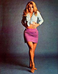 Barbara Bouchet, 1968.