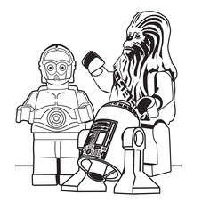 Leuk voor kids kleurplaat ~ Lego Star Wars Lego Coloring Pages, Lego Star Wars, Darth Vader, Memes, Fictional Characters, Party, Parties, Fantasy Characters, Meme