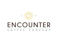 encounter coffee company  --- ali mooney design