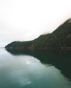 Lake Crescent, Washington (photo taken by Bryan Daugherty)