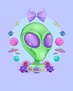 Alien Cuties Stickers or Magnets Series 3 by ShopOctopug on Etsy