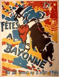 Toutes les affiches des fêtes de Bayonne de 1932 à 2014