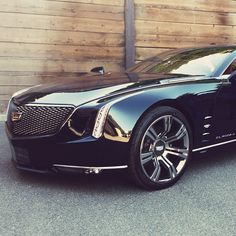 #Cadillac #Elmiraj is powered by a concept engine...a 4.5-liter twin turbocharged V8 delivering an estimated 500hp.