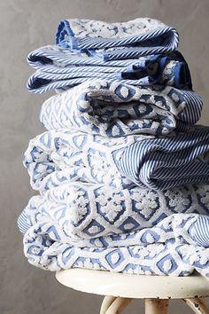 Anthropologie EU Tarren Towel Collection