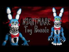 FNAF 4 ✰ Nightmare Toy Bonnie Tutorial ✰ Polymer Clay ✰ Porcelana Fría ✰