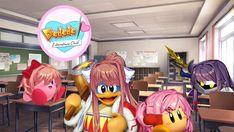 Oh my god, Meta Knight as Yuri. Stupid Funny Memes, Funny Relatable Memes, Creepypasta Anime, Kirby Memes, Demon Baby, Oki Doki, Kirby Character, Meta Knight, Literature Club