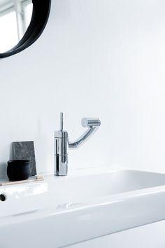 Damixa Arc design faucet by Jakob Jensen