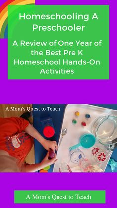 How will you create educational and fun activities for them over the course of one year? Why not use One Year of the Best Pre K Homeschool Hands-On Activities! Homeschool Curriculum Reviews, Homeschool Kindergarten, Homeschooling, Phonics Games, Teaching Phonics, Hands On Activities, Preschool Activities, Rainbow In A Jar, Pre Writing