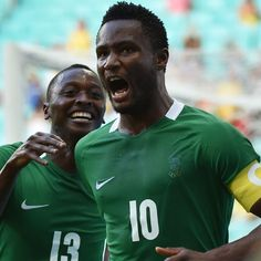 John Obi Mikel's leadership shining through for Nigeria at the Rio Olympics