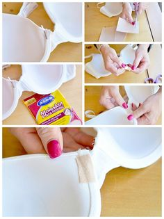 How to Temporary Fix a Broken Underwire of a Bra