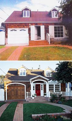Before & After: Small House Porch Addition