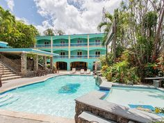 #Exteriors #Resort #Pools » The Lazy Parrot Inn - a Unique Caribbean Tourism Opportunity in Rincon, Puerto Rico » #prsir #rincon #puertorico #realestate » http://on.prsir.co/w9djzf