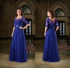 Find More Evening Dresses Information about 2015 New Fashion Appliques Lace Navy Blue Mother of the Bride Dresses With Half Sleeves Plus Size Godmother Dress,High Quality lace up prom dress,China lace silk dress Suppliers, Cheap dress lace up from Suzhou Babyonline Dress Store on Aliexpress.com