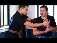 Krav maga: Defense against choke from the side