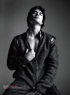 Ian Somerhalder in the September/October 2012 Issue of Essential Homme: #2