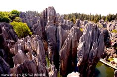 Recently, the list Top 10 Tourism Destinations was launched during the third China Tourism Industry Conference. Scenic spots like Shilin Stone Forest in Yunnan province. It is notable for karst formations