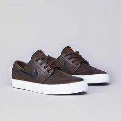 Nike SB Stefan Janoski Leather Baroque Brown / Black