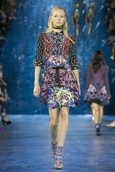 Shop the Runway - Spring Summer 2016 - now from the luxury ready to wear and accessories womenswear designer Mary Katrantzou's new Runway - Spring Summer 2016 - collection Shop The Runway, Future Trends, Mary Katrantzou, Ditsy Floral, Textile Prints, Textiles, Spring Summer 2016, Ss16, Who What Wear