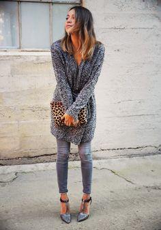 jean gris et chaussures salomé grises