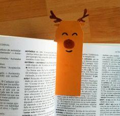 Marcapáginas de Navidad. Christmas crafts http://manualidades.euroresidentes.com/2013/12/original-marcapaginas-navideno-para.html