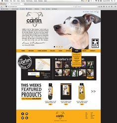 Carlin Pet Product Branding on Behance