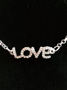Love Necklace by KelsysCharm on Etsy, $12.00