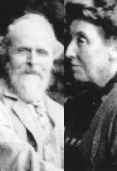 """""""It is indeed unusual to find two people so gifted, so entirely in harmony in their art, who acted and reacted on each other's genius. Their romance is one before which the pen falters..."""" said an old friend of the De Morgans ~ William (1839-1917) and Evelyn (1855-1919) De Morgan"""