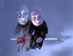 Tony Oursler, You, Me, Them, 1996