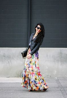 Springing into Spring  , H in Jackets, Anthropologie in Dresses, Chanel in Bags, Zara in Heels / Wedges