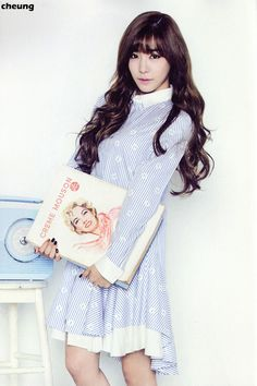 SNSD Tiffany 2015 Season Greeting calendar