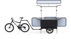 Food bikes for sale – Sell burgers on the bike