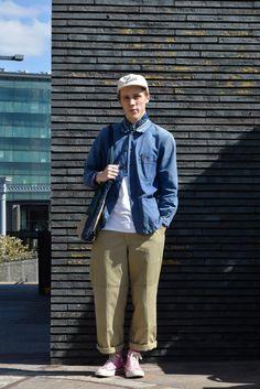 ストリートスナップ - Ralph Robertsさん | Fashionsnap.com