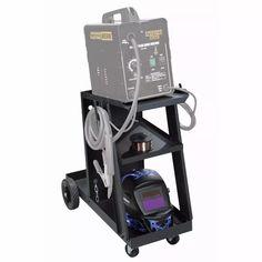 carrito para soldadora micro alambre mig, flux core