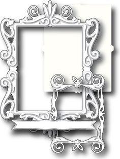 Memory Box - Dies - Victorian Frame