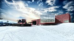 Ski station concept project