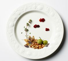 plated food vignettes photographed by Andrea Bricco and styled by Casa de Perrin