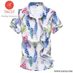 Cheap camisa masculina, Buy Quality short sleeve shirt directly from China sleeve shirt men Suppliers: GOUHAI 2017 New Fashion Mens Shirts Floral Male Clothes Plus Size Slim Fit Casual Short Sleeve Shirt Men Camisa Masculina Mens Beach Shirts, Mens Hawaiian Shirts, Casual Shirts For Men, Men Casual, Slim, Printed Shirts, Floral Shirts, Shirt Style, Men Dress