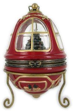 Amazon.com: Mr. Christmas's Animated Heirloom Music Box Tree Ornament:..