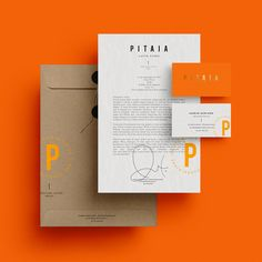 Pitaia Branding by Malarte Studio – Inspiration Grid | Design Inspiration #branding #identity #graphicdesign #design #print #printdesign #stationery #businesscards #designinspiration #orange #inspirationgrid