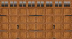 18 Best Long Panel Garage Doors Images On Pinterest
