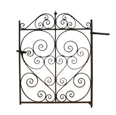 EARLY 20TH C. WROUGHT IRON SIDE GATE - UK Architectural Heritage