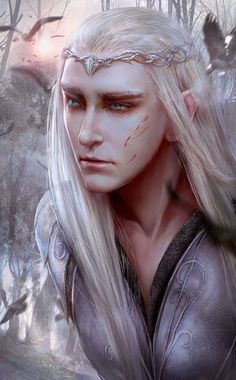 Thranduil. Oh my....some people are just so talented.