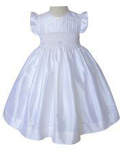 Girls special occasion silk dress