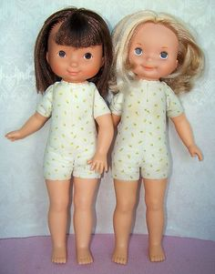 My Friend Jenny & Mandy, circa 1976.  My daughter loved her Mandy doll.  I loved to sew matching outfits for for Marlo and Mandy.