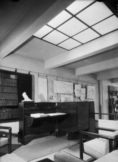 Bibliothèque de la Villa des frères Martel (atelier de sculpteurs) - Bonney Therese (dite), Bonney Mabel (1894-1978) - Arago