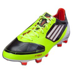 adidas F50 adizero TRX FG - miCoach compatible - - Phantom/White/Electricity. The adizero is one of the lightest; fastest boots to hit the field.