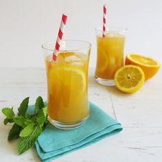 Cool Mint and Orange Tea