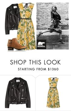"""""""Kick Up the Leaves (Stylishly) With SOREL: CONTEST ENTRY"""" by tijana89 ❤ liked on Polyvore featuring SOREL, Acne Studios, Marc Jacobs and sorelstyle"""