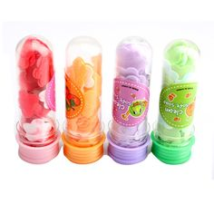 1 pcs Portable Tube Savon Pétales Pour Voyage Parfumée Savon Flocons De Bain ChildHand Savons de Lavage (Couleur Aléatoire)