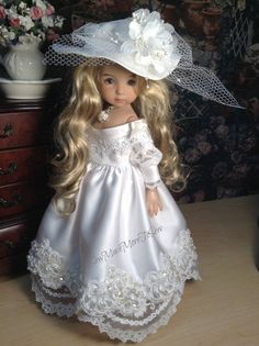 Dianna Effner Little Darling Wedding Day by SewMuchMoreToSew